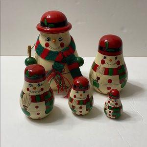 Vintage Kurt S. Adler Russian Nesting Dolls